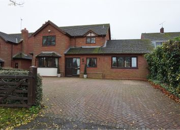 Thumbnail 5 bed detached house for sale in Church Lane, Leamington Spa