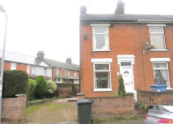 Thumbnail 2 bedroom end terrace house for sale in Rosebery Road, Ipswich