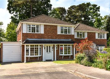 Thumbnail 4 bedroom detached house for sale in Kingfisher Close, Church Crookham, Fleet