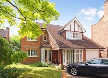 Thumbnail 4 bedroom detached house to rent in Chertsey Road, Shepperton