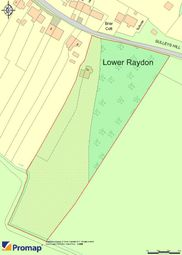 Thumbnail Land for sale in Sulleys Hill, Lower Raydon, Ipswich, Suffolk
