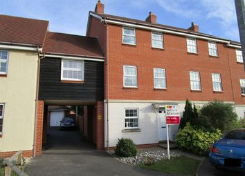 Thumbnail 3 bedroom town house for sale in Shepherd Drive, Colchester