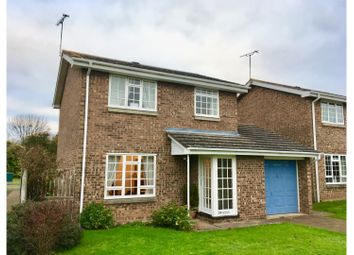 Thumbnail 3 bed detached house for sale in Linden Close, Warwick