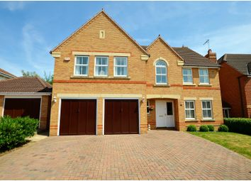 Thumbnail 5 bed detached house for sale in Sorrel Close, Wootton, Northampton