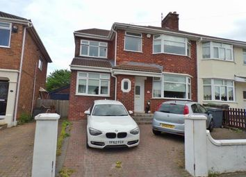 Thumbnail 5 bed semi-detached house for sale in Northwood Road, Prenton, Merseyside