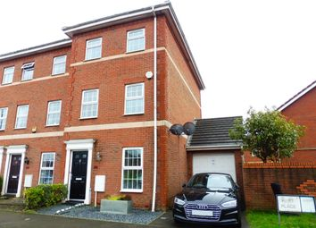 Thumbnail 4 bed town house for sale in Beaufort Square, Splott, Cardiff