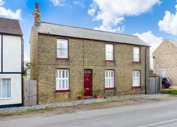 Thumbnail 3 bed detached house for sale in The Bank, Somersham, Huntingdon