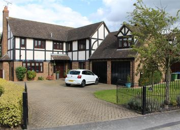 Thumbnail 6 bed detached house for sale in Knighton Close, Broughton Astley, Leicester