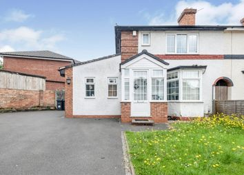 Thumbnail 3 bed end terrace house for sale in Hazelville Road, Hall Green, Birmingham