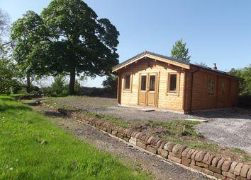 Thumbnail 1 bed lodge to rent in Fairfield Farm, Cheadle Road, Alton