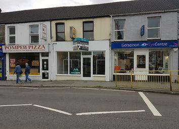 Thumbnail Retail premises to let in High Street, Gorseinon, Swansea