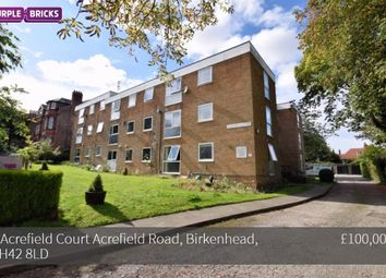 Thumbnail 2 bed flat for sale in Acrefield Road, Birkenhead