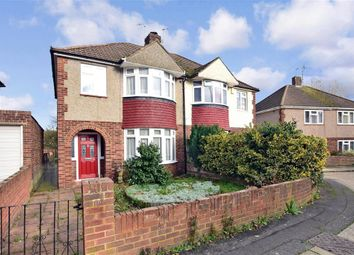 Thumbnail 3 bed semi-detached house for sale in Worcester Close, Strood, Rochester, Kent