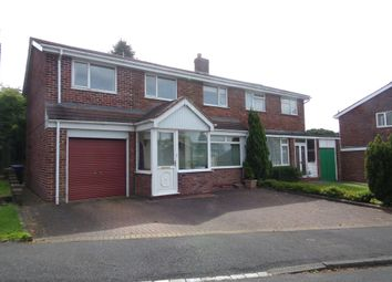 Thumbnail 3 bedroom semi-detached house for sale in The Meadows, West Rainton, Houghton Le Spring