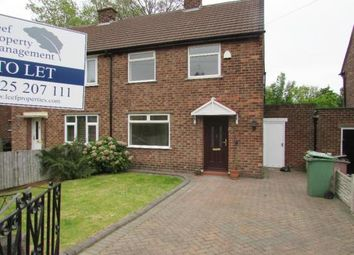 Thumbnail 2 bed semi-detached house to rent in Lloyd Crescent, Newton-Le-Willows