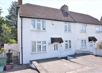 Thumbnail 3 bed end terrace house to rent in Crayford Way, Dartford