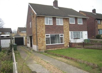 Thumbnail 3 bed semi-detached house to rent in Miller Drive, Fareham