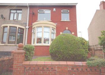 Thumbnail 3 bedroom semi-detached house for sale in Salisbury Road, Blackpool