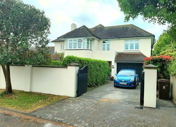 Thumbnail 5 bed detached house for sale in Ferringham Lane, Ferring, West Sussex
