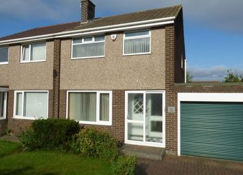 Thumbnail 3 bed semi-detached house for sale in Tudor Avenue, North Shields