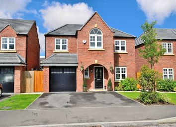 Thumbnail 4 bed detached house for sale in Commissioner Square, Sandford Village, Warrington