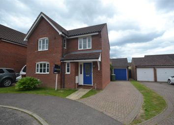 Thumbnail 4 bed detached house for sale in Rackheath, Norwich