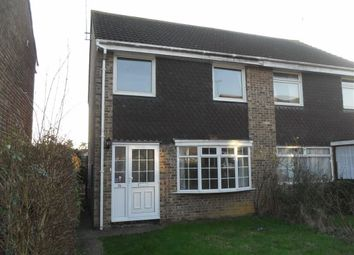 Thumbnail 3 bedroom semi-detached house to rent in Tryon Close, Swindon