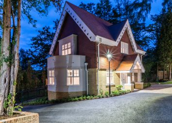 Thumbnail 3 bed detached house for sale in Brooklands Road, Weybridge