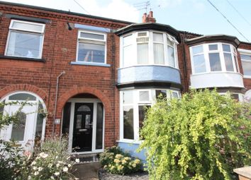 Thumbnail 3 bed terraced house for sale in Claremont Avenue, Beverley Road, Hull