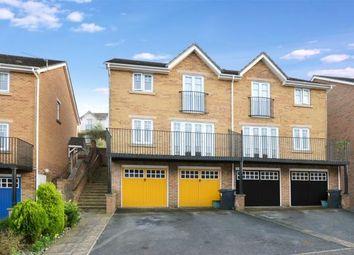 Thumbnail 3 bed semi-detached house for sale in Hamilton Drive, Newton Abbot, Devon
