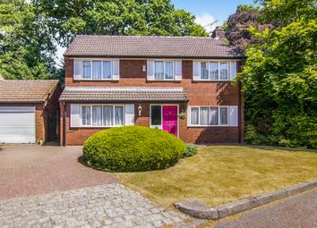 Thumbnail 4 bed detached house for sale in Dibbins Green, Bromborough, Wirral