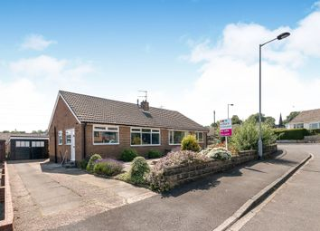 Thumbnail 2 bed semi-detached bungalow for sale in Markfield Crescent, Low Moor, Bradford