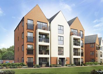 "Thumbnail 3 bed flat for sale in ""Lowesby"" at Carters Lane, Fairfields, Milton Keynes"