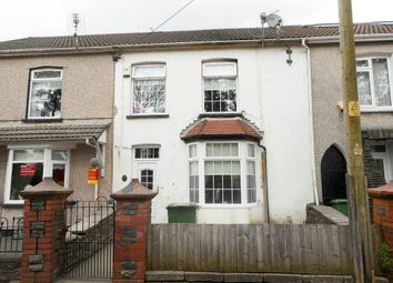 Thumbnail 3 bed terraced house for sale in Gilfach Road, Tonyrefail