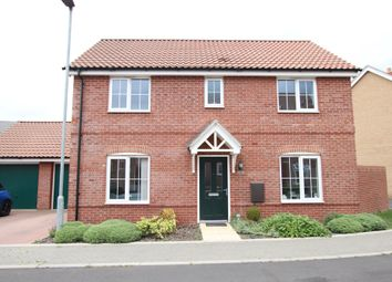 Thumbnail 3 bed detached house for sale in Moorhen Close, Sprowston, Norwich