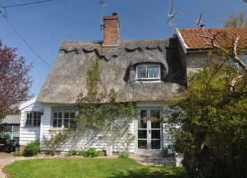 Thumbnail 2 bed cottage for sale in School Lane, Coddenham, Ipswich