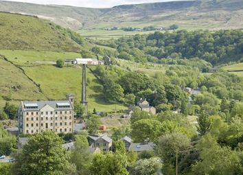 Thumbnail 2 bed flat for sale in Woodhouse Road, Todmorden