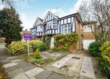 Thumbnail 4 bed semi-detached house for sale in Trevelyan Crescent, Harrow