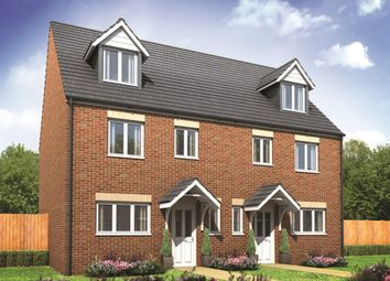"Thumbnail 4 bedroom town house for sale in ""The Leicester"" at Watnall Road, Hucknall"