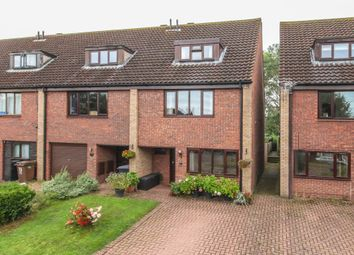 Thumbnail 3 bed town house for sale in Armstrong Close, Newmarket