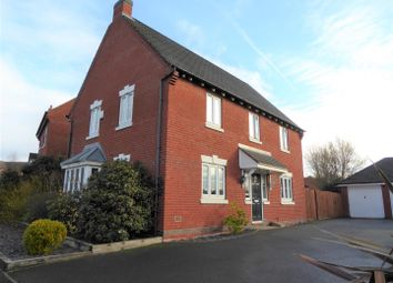 Thumbnail 4 bed detached house for sale in Glamorgan Way, Church Gresley