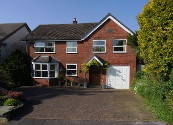 Thumbnail 4 bed detached house for sale in Stoneyfold Lane, Macclesfield