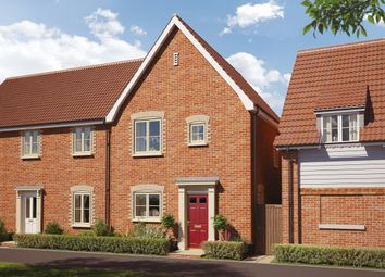 Thumbnail 2 bed semi-detached house for sale in Saxtead Road, Framlingham