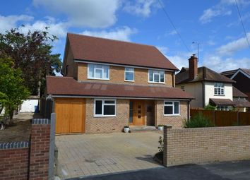 Thumbnail 5 bedroom detached house for sale in Florence Road, Church Crookham, Fleet