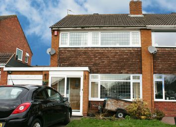Thumbnail 3 bed semi-detached house for sale in Mayhurst Road, Hollywood, Birmingham