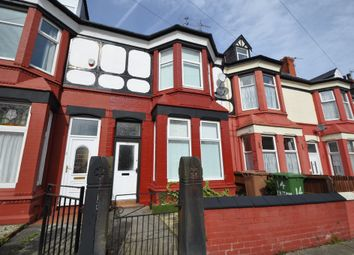 Thumbnail 4 bed terraced house for sale in Easton Road, New Ferry, Wirral