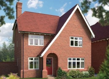 "Thumbnail 4 bed detached house for sale in ""The Lydiard"" at Blunsdon, Swindon"