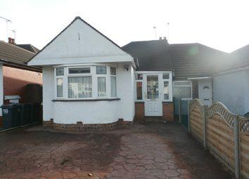 Thumbnail 2 bed semi-detached bungalow for sale in Elmay Road, Sheldon, Birmingham