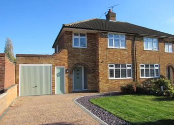 Thumbnail 3 bed semi-detached house to rent in Manor Road, Toddington, Dunstable