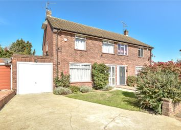 Thumbnail 3 bed semi-detached house for sale in Lodge Close, Uxbridge, Middlesex
